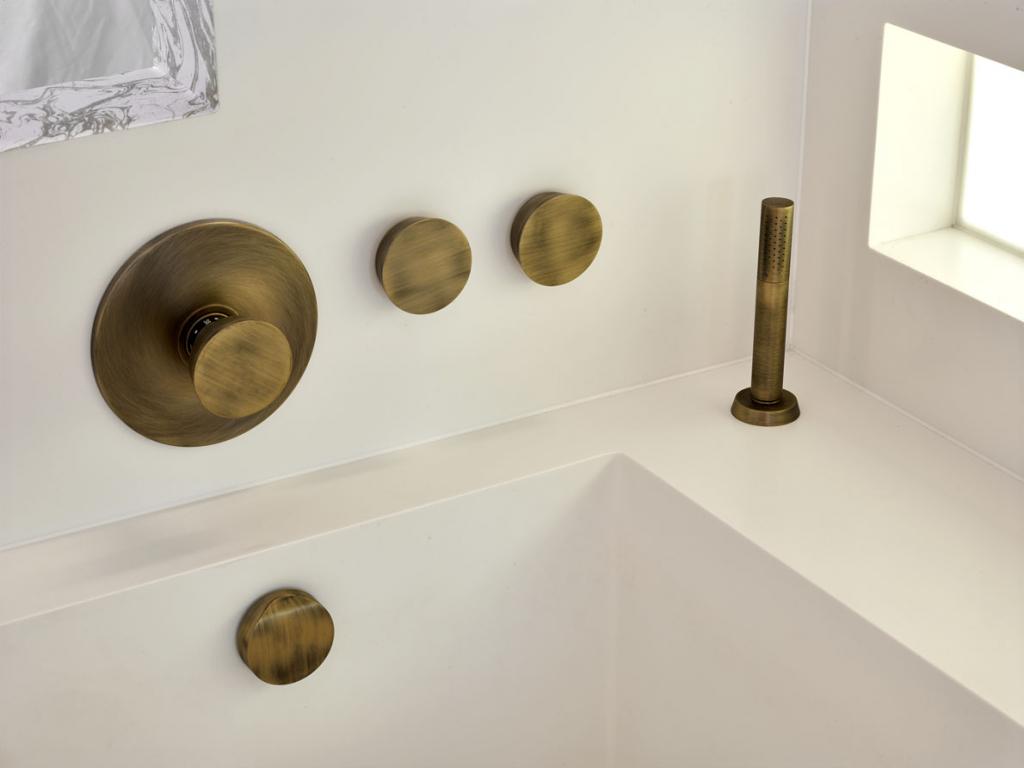 00027PL_ZEN51_Zen_Wall_Mounted_Shower_Mixer_in_Vintage_Brass