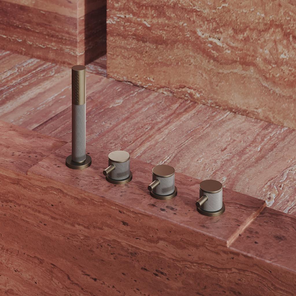 00067PL_TIN26_Titanium_Deck_Mounted_Bath_Mixer_in_Aged_Brass