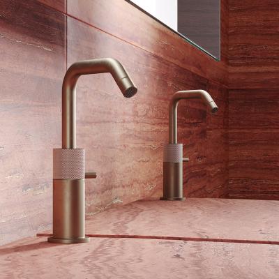 TIN01_Titanium_Deck_Mounted_Basin_Tap_in_Aged_Brass_00478L